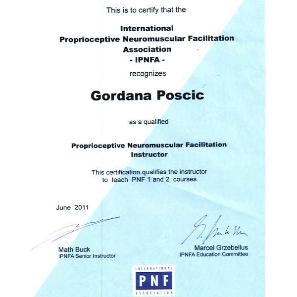 Fizio GP - Gordana Pošćić
